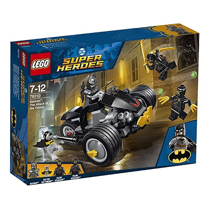 Bộ đồ chơi LEGO siêu anh hùng Batman vs Claws 76110 cho trẻ 7-12 tuổi