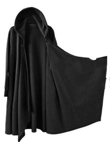 Mùa thu Hàn Quốc nhà tạo mẫu tóc áo gió thủy triều nam cá tính tối chiếc áo đan len phần dài kích th