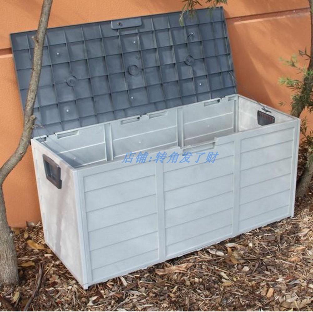 Thùng nhựa Trong vườn có nhiều khả năng ngăn chứa khoảng sân ngoài trời thu nạp hộp tủ kem chống nắn