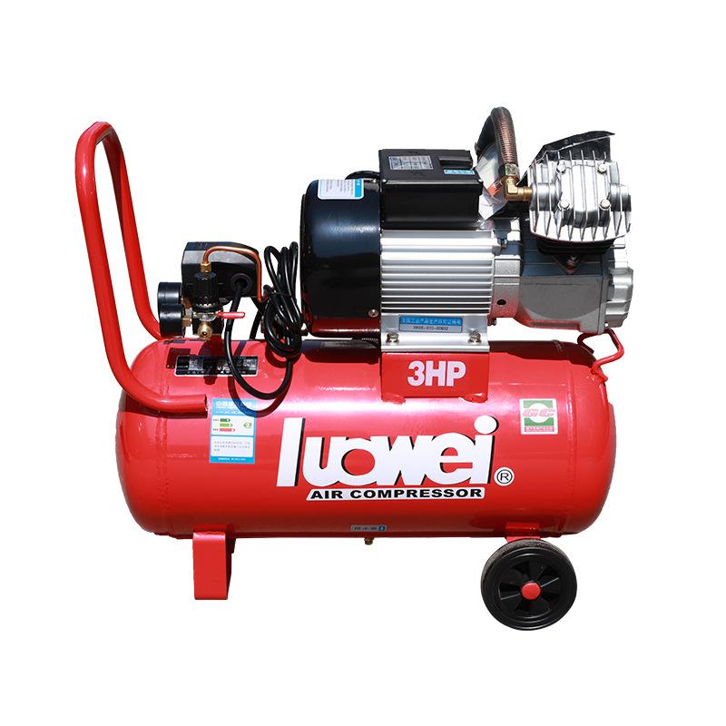LUOWEI Máy nén khí công nghiệp nhỏ piston máy nén khí cầm tay tự động sửa chữa máy nén khí im lặng á