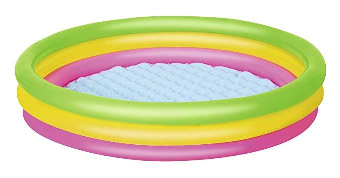 Bestway bể bơi trẻ sơ sinh Parkway Children Pool Ocean Ball Wave Ball Pool Pool 51103 Đỏ / Vàng / Xa
