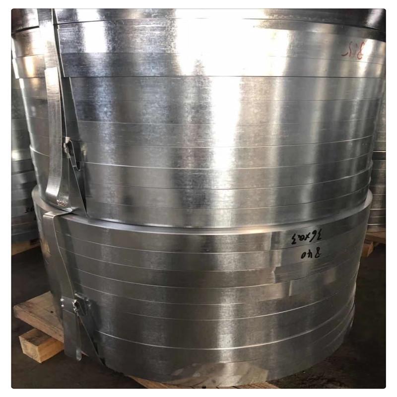Tôn cuộn Bán buôn thép mạ kẽm nhúng nóng k195 mạ kẽm tại chỗ có thể được chia thành xử lý cắt dải 0,