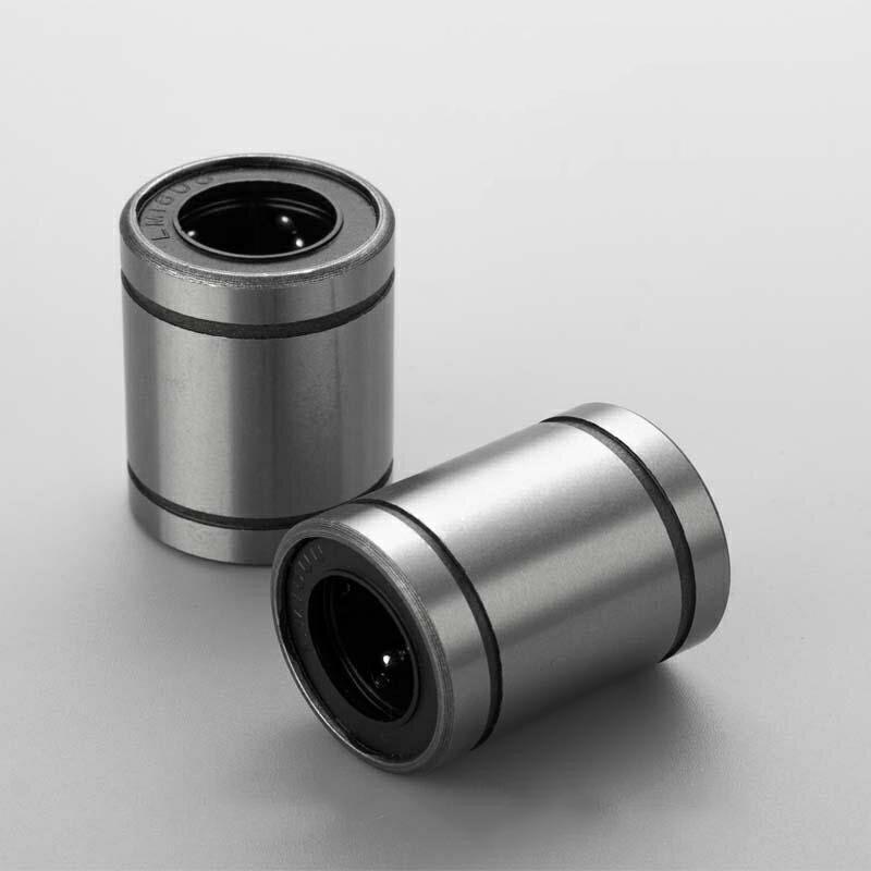 KES Bạc đạn Vòng bi chuyển động tuyến tính LM20UU Vòng bi tuyến tính chính xác cao không bị rỉ sét