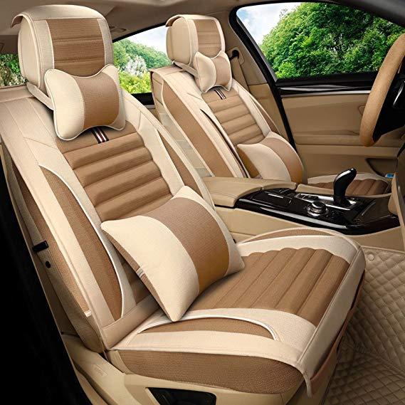 Jiang Nam Thêu năm chỗ ngồi bọc ghế xe bằng vải lanh bọc ghế GAC Chuanqi GS4 GS5 GA6 GAC Chuanqi GA3