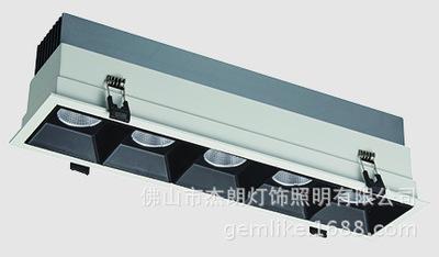 Bóng đen LED âm trần Những chiếc đèn lồng đèn LED LED LED ngày LED nhúng GL-SDC8001-3