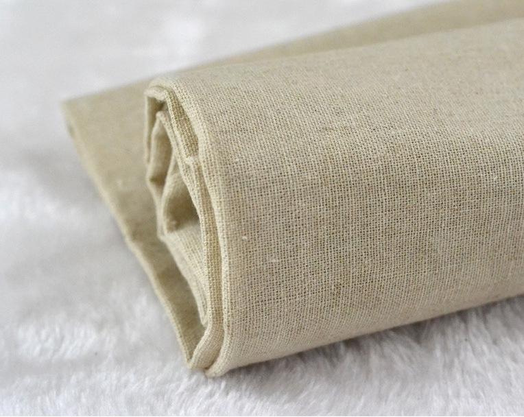 vải mộc Màu cơ bản, màu tinh khiết, vải xám, vải cotton, vải lanh, DIY chắp vá, vải nền