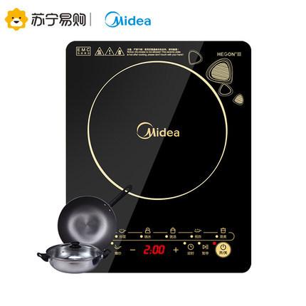 Midea Bếp từ, Bếp hồng ngoại, Bếp ga Bếp từ cảm ứng Midea / Midea C21-WK2102T màn hình cảm ứng gia đ