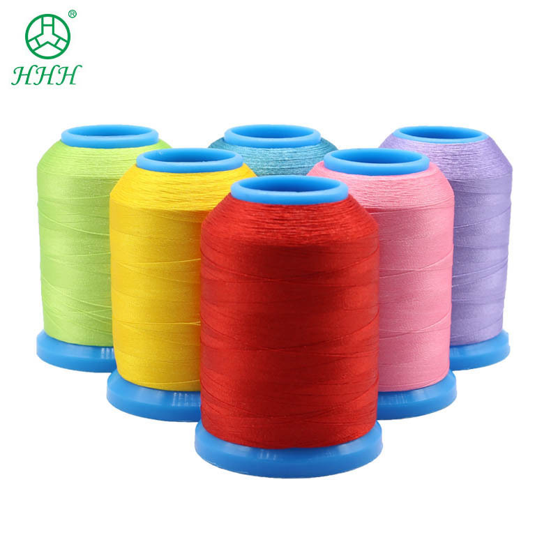 KANGFA Chỉ thêu Các nhà sản xuất cung cấp 120D máy thêu chỉ may quần áo 108D giày dép và mũ polyeste