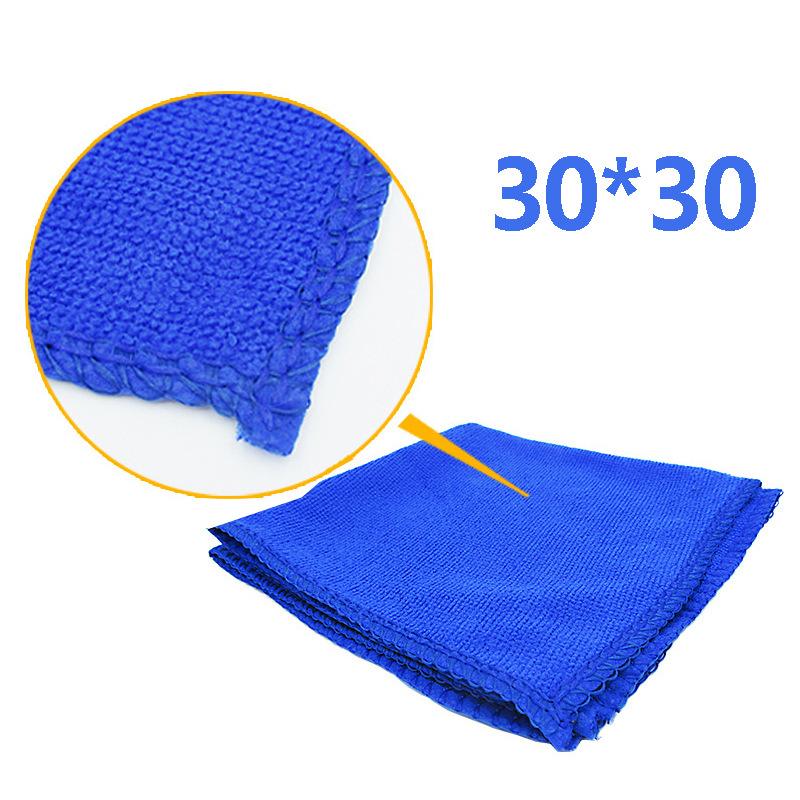 Đồ dùng ô tô Microfiber nhỏ khăn vuông quà tặng giveaway khăn nhỏ Nguồn hàng gian hàng 30 * 30 khăn