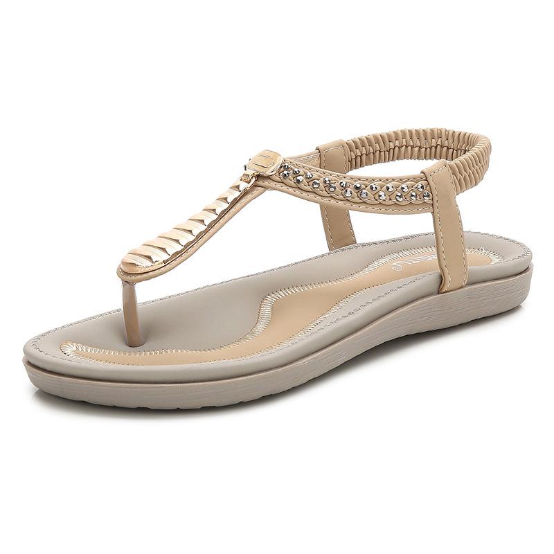 Giày sandal nữ Dây kiểu xỏ Ngón , Thương Hiệu : SAIMEITU