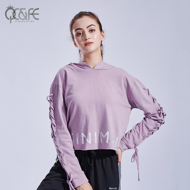 Áo cotton mới cho Nữ thể thao rộng rãi có thể tập thể dục , yoga .
