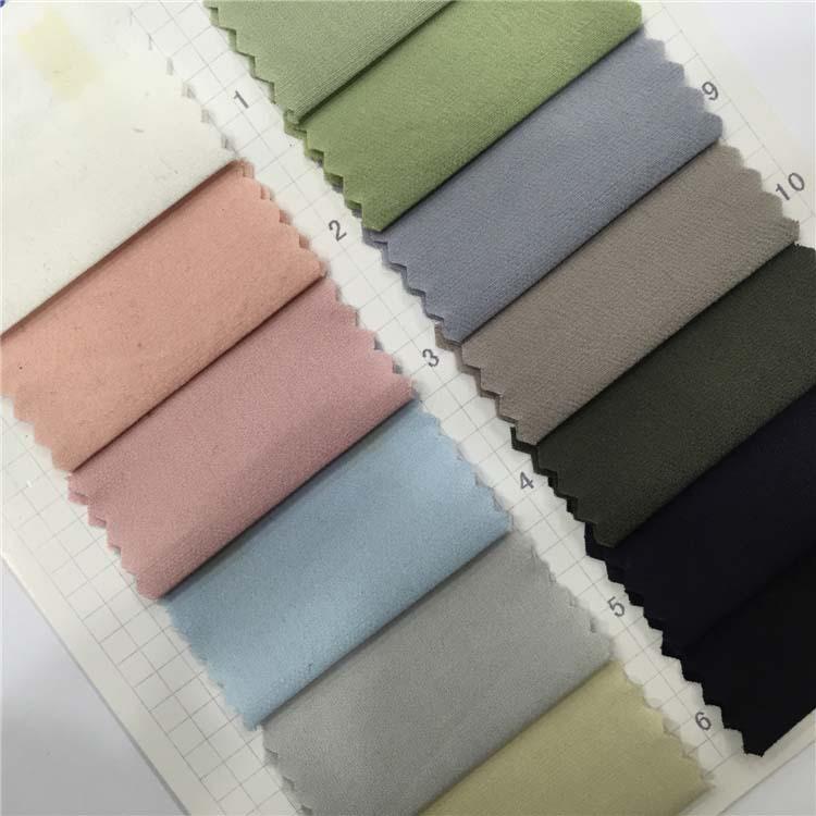 Vải Visco (Rayon) Chất liệu cotton siêu đàn hồi toàn quy trình nhuộm vải 13 màu vải ngoài kệ 115026