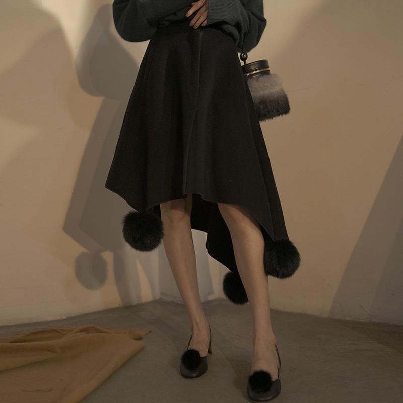 Chân Váy Len Dài Kiểu Xòe , Đơn giản nhẹ nhàng , Thương hiệu :  ILIAD
