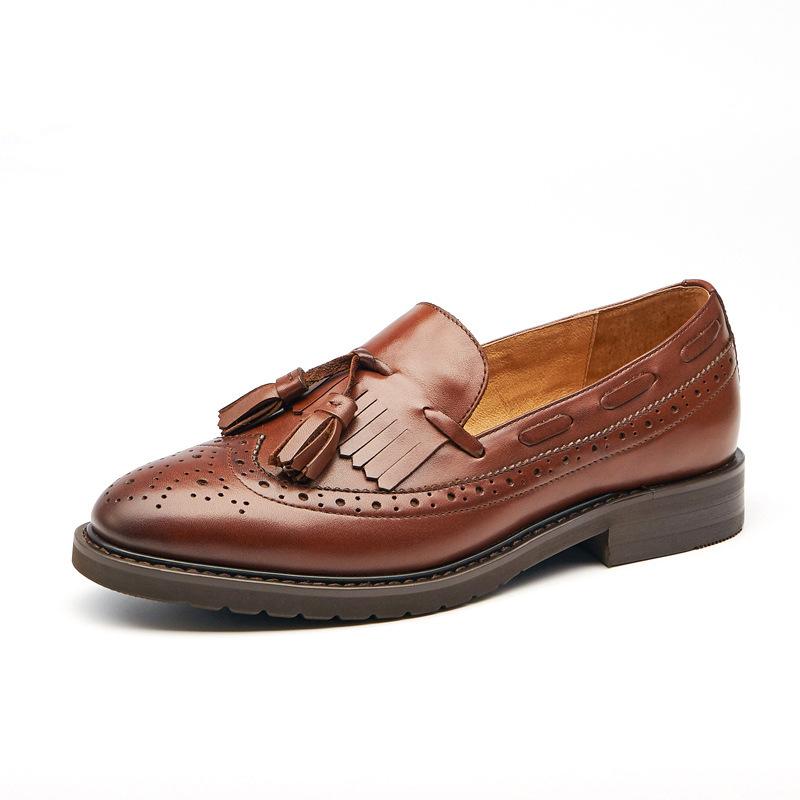 Giày Mọi Da Đế bệt dành cho Nữ , Thương hiệu : BEAU