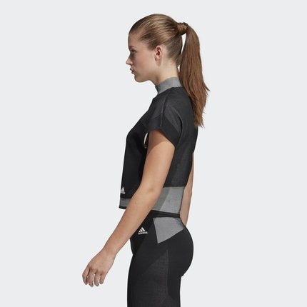 Adidas  Áo thun Adidas TEE PK LTE chính thức đào tạo áo thun nữ ngắn tay DU3856
