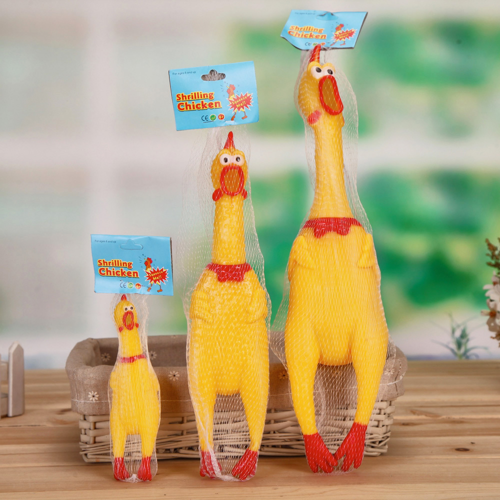 Nhà sản xuất Đồ chơi : gà gào lớn, vừa và nhỏ Sáng tạo