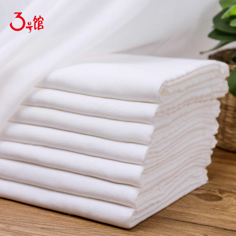 3 HAO GUAN vải mộc Bông gạc đôi em bé tã nước bọt khăn tắm em bé vải vải bông vải nhà máy bán buôn