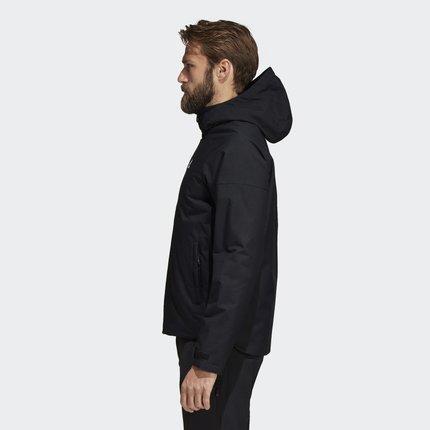 Adidas Phái nam  Adidas chính thức áo khoác cotton ngoài trời nam HOODEDPADJKT DZ7624CZ6188