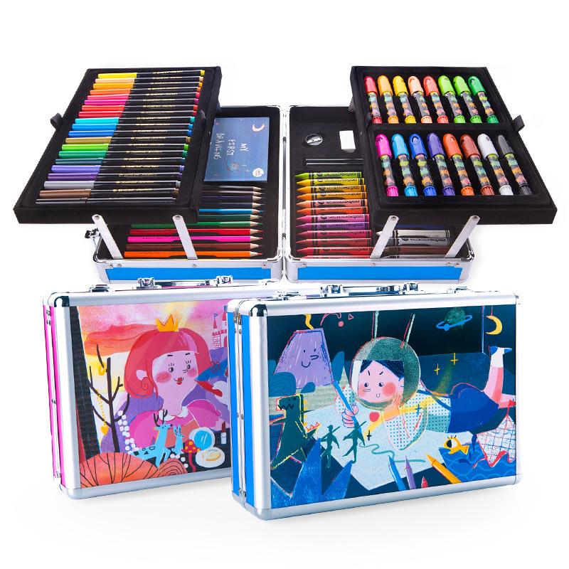 Hộp Bút Màu Joan Miro Merlot - bộ công cụ vẽ tranh màu nước có nhiều loại bút khác nhau .