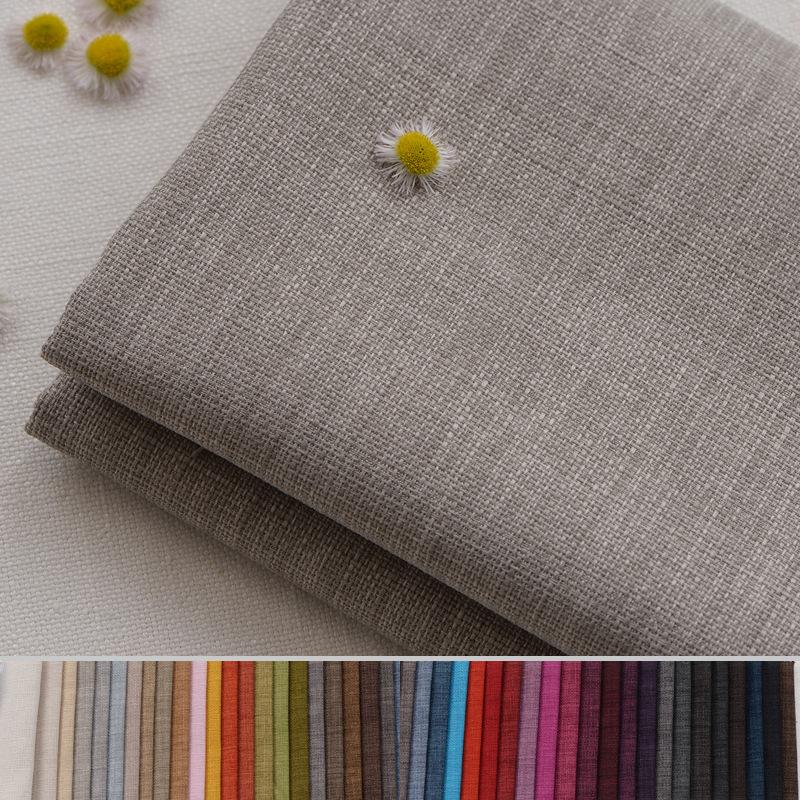 PUSU NLSX vải Nhà máy bán buôn Vải cotton dày và vải lanh kỹ thuật vải mềm túi cứng Túi tre và vải l