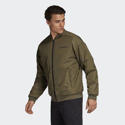 Adidas Phái nam Adidas chính thức TX PADDED JKT áo khoác cotton ngoài trời nam EB7558EB7557