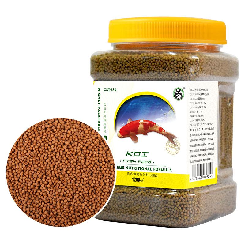 Thức ăn cho cá OEM OEM Koi cây giống cho cá ăn thức ăn cá nhỏ cá vàng trang trí cá tảo
