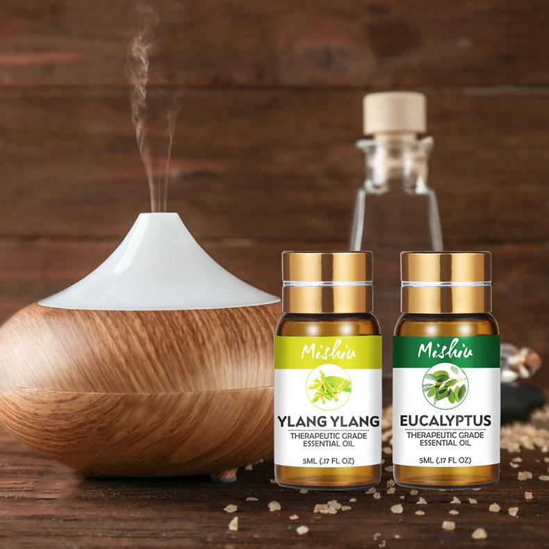 MISHIU NLSX dầu thực vật Tinh dầu thực vật độc quyền xuyên biên giới Tinh dầu thơm 5mL 24 loại tùy c