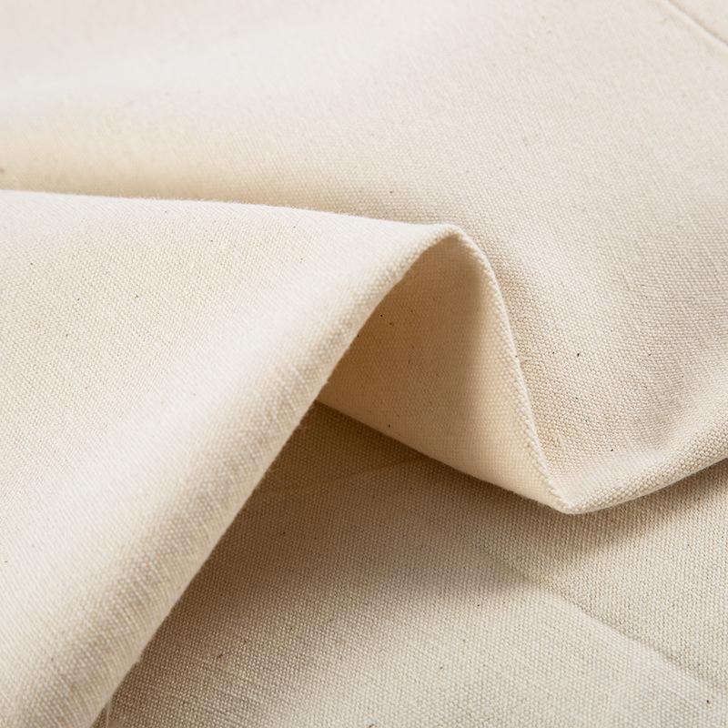 ZHENGYUN vải mộc Túi vải cotton trơn 21s 8 Một túi vải cotton vải trắng vải bông tại chỗ