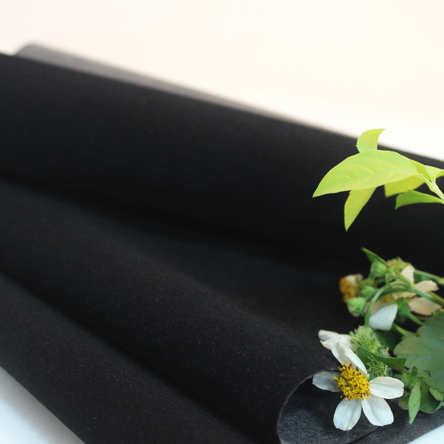 JINFENGSHENG Vải lót Nguồn nhà máy trực tiếp nước đen đâm đáy có thể là nhung nhung một mặt vải lót