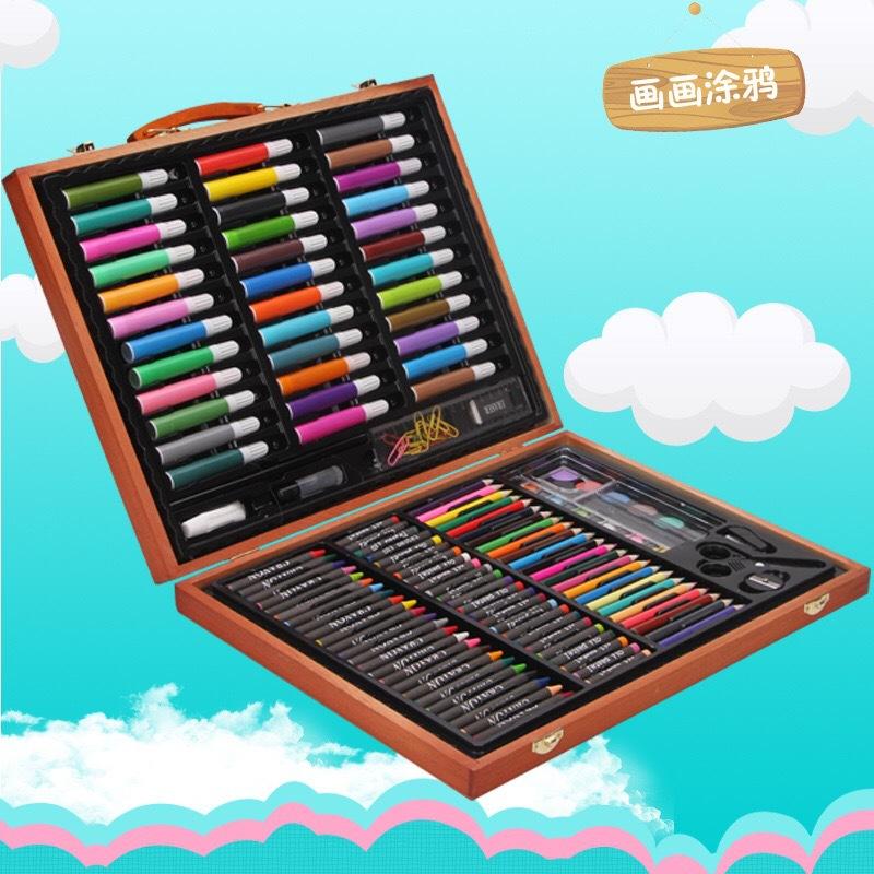 AINIBABY bộ công cụ vẽ tranh cho trẻ , bút nghệ thuật nhiều loại .