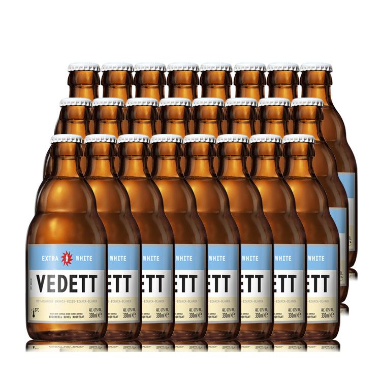 BAIXIONG NLSX bia Bia chim cánh cụt gấu trắng bia bia thủ công Bỉ được cấp phép 24 chai * 330ml VEDE