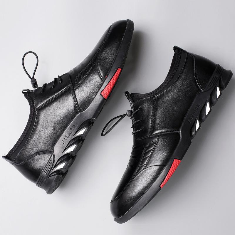 Giày nam da CHENGFA lót lông ấm chân
