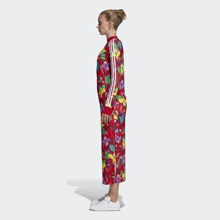 Adidas  Váy Adidas chính thức Adidas clover GRPHC DRESS Váy của phụ nữ LG ED6581