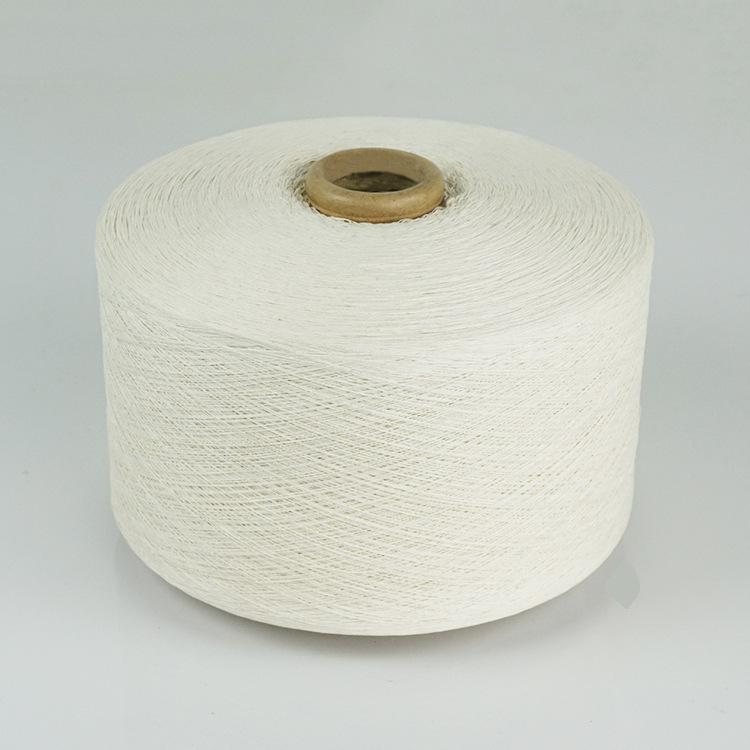 Sợi pha , sợi tổng hợp Cung cấp sợi bông tái chế trắng, sợi pha, sợi denim, sợi găng tay, sợi