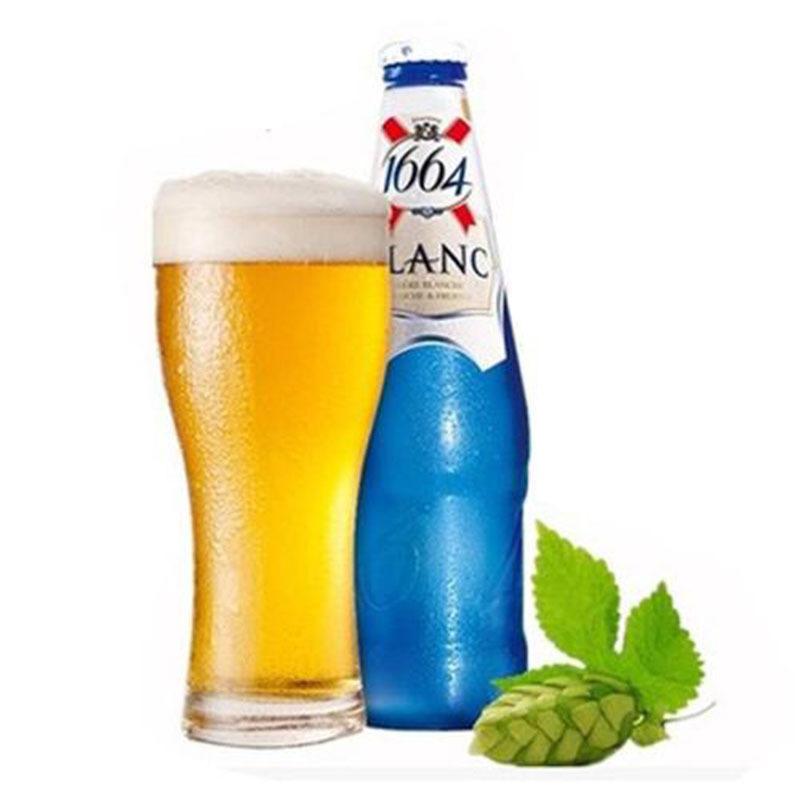 KAIXUAN 1644 NLSX bia Pháp nhập khẩu Kronborg Triumph 1664 Bia trắng 250ml * 24 chai