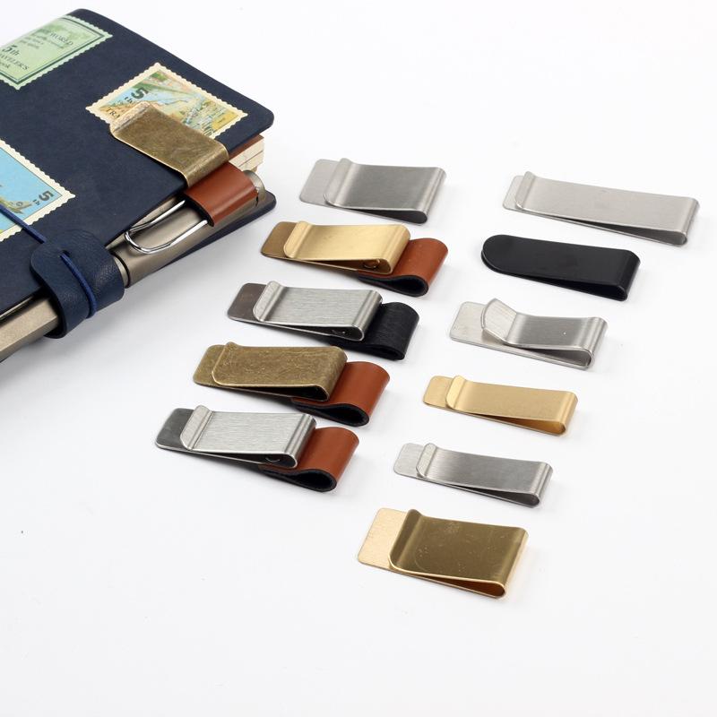 Phụ kiện máy xách tay Nhà máy bán buôn bút tùy chỉnh clip retro giấy clip máy tính xách tay phụ kiện