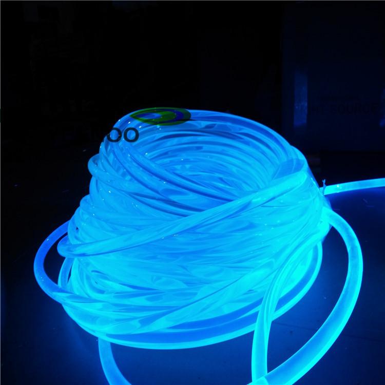 Đèn LED âm nước Nhà sản xuất bán buôn dẫn cả vật thể bên dưới ánh sáng đèn trang trí bể bơi sợi quan