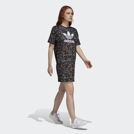 Adidas  Váy  Adidas chính thức Adidas clover DRESS váy nữ DH4271