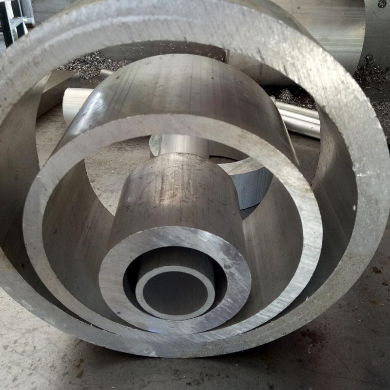 Thanh nhôm Ống liền mạch  , Ống nhôm 6063 , Ống nhôm lớn 6061 ,Thông số kỹ thuật đầy đủ Có thể cắt