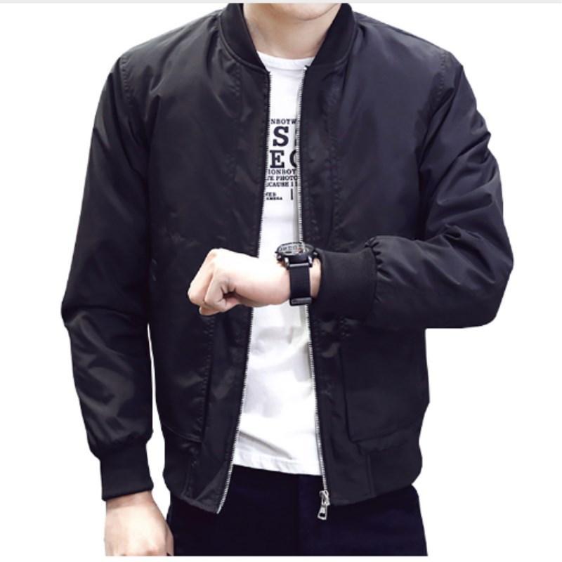 Áo khoác Thanh niên xuyên biên giới mùa xuân nam nổ tung áo khoác nam kích thước lớn áo khoác bóng c