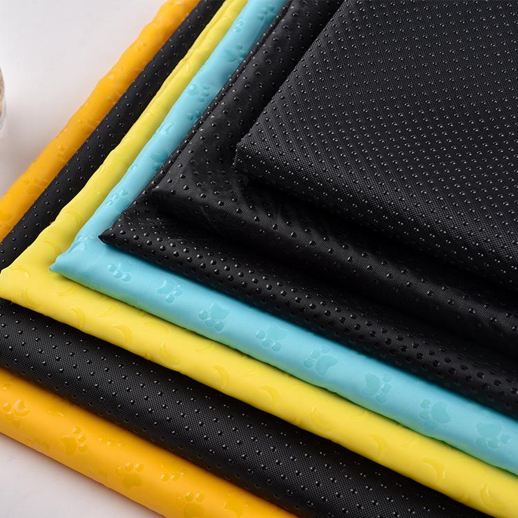 SHAOTING NLSX vải Nhà máy sản xuất trực tiếp 150 vải Oxford vải Pet mat chống trượt Vải polyester nh
