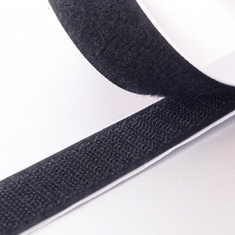 Khoá dán Velcro Sợi dán cửa sổ Nút mẹ Velcro Velcro với băng dính mạnh Nhà máy trực tiếp Tùy chỉnh