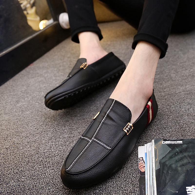 Giày mọi Gommino Bằng Da dành cho Nam .