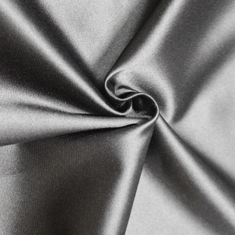 Vải dệt may Từ Nhà máy trực tiếp , vải satin đàn hồi ,in mờ  .