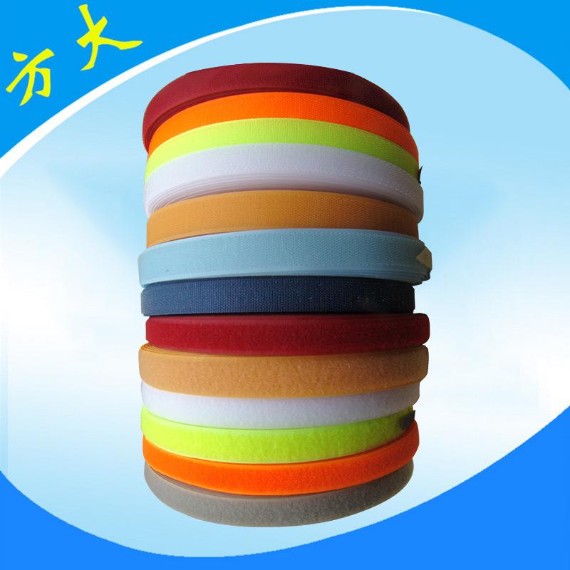 FANGDA Khoá dán Các nhà sản xuất băng Velcro cung cấp móc và vòng buộc chặt Velcro nylon băng xanh V