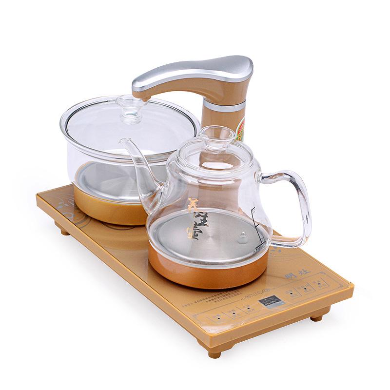 FUWANQIAN Nồi lẩu điện, đa năng, bếp và vỉ nướng Đầy đủ thông minh tự động máy nước nóng ấm điện tự