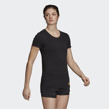 Adidas Áo thun Adidas Official Adidas 25/7 TEE CNY W Women Chạy áo thun ngắn tay DX2555