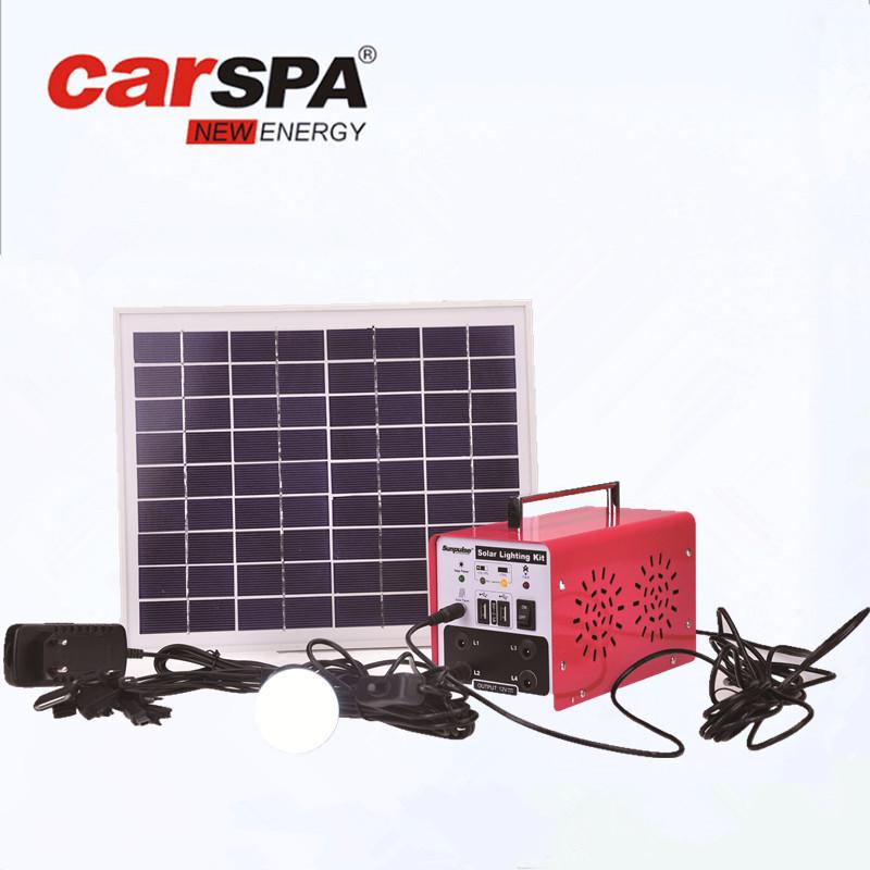 Thiết bị cung cấp năng lượng quang điện di động dùng cho hộ gia đình .