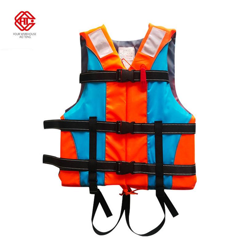 AOTENG Thiết bị an toàn Bán buôn áo phao cho trẻ em người lớn với khóa đôi sling với cứu hộ áo nước