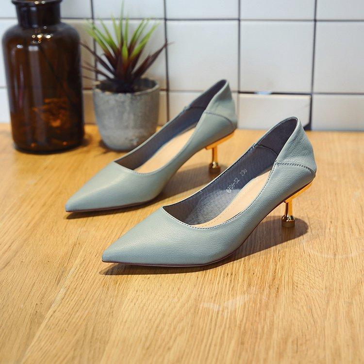 Giày Búp Bê cao gót dành cho Nữ , Nơi xuất xứ Quảng Châu.